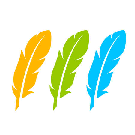 pure: Color feather icon set
