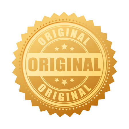 Original gold seal icon