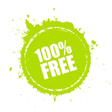 100 free paint splash vector icon