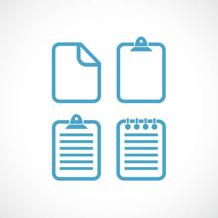 Text file document vector pictogram