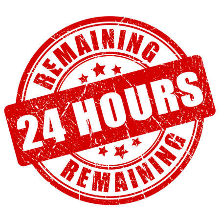 Remaining 24 hour stamp Illustration