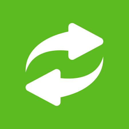 Renew arrow vector icon