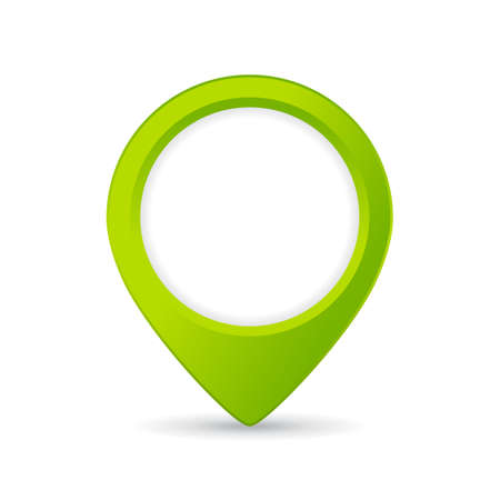 Green map location icon