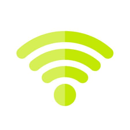 Green wifi icon