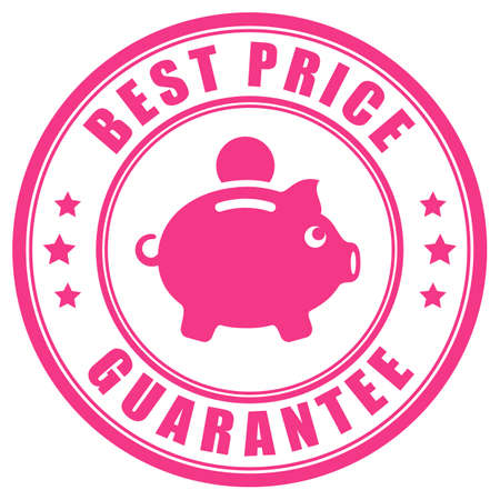 Best price guarantee vector label
