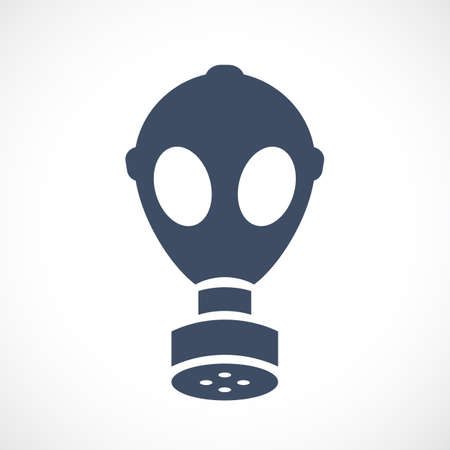 Old gas mask vector icon 矢量图像