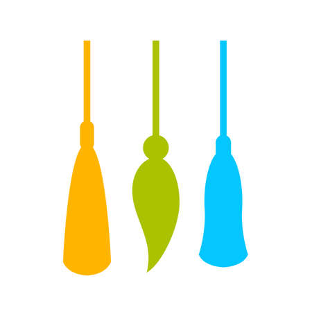 Tassel vector icon
