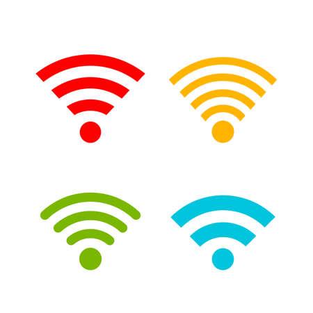 Colorful internet web icon