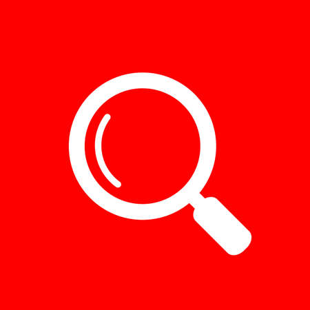Loupe vector web icon