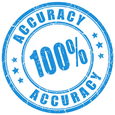 Accuracy vector stamp