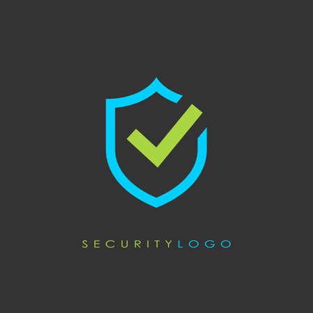 Security logo vector design