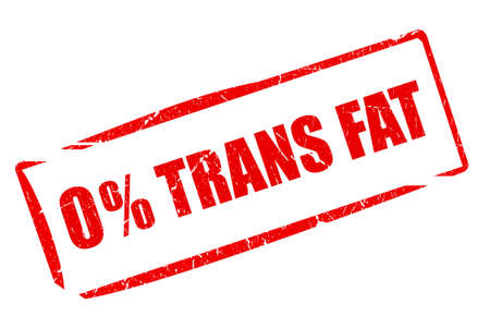 No trans fat rubber stamp Stock Photo - 104194670