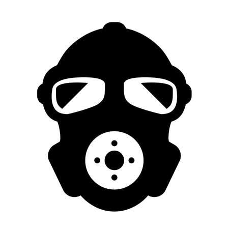 Respirator vector icon