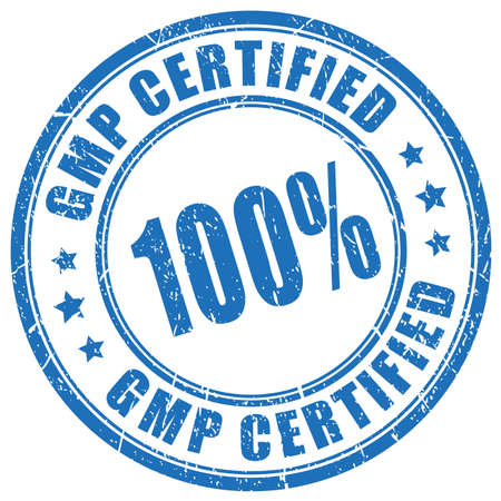 Gmp certified product vector stamp Vector Illustration