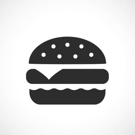 Burger vector icon