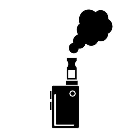 Vape vector pictogram
