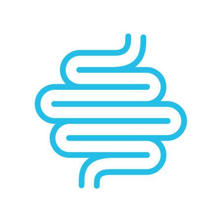 Intestine vector icon
