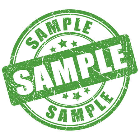 Green sample imprint Çizim