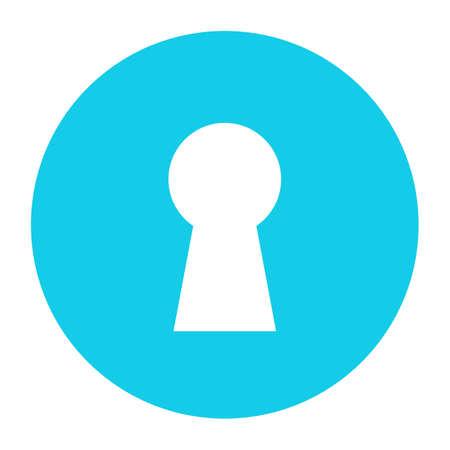 Keyhole vector icon