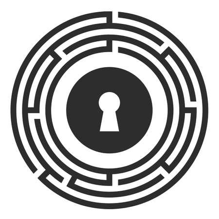Logo vectoriel de quête