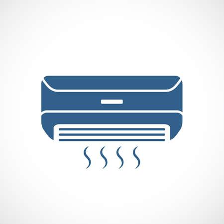 Klimaanlage-Vektor-Symbol Vektorgrafik