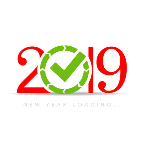 2019 New Year is loading now