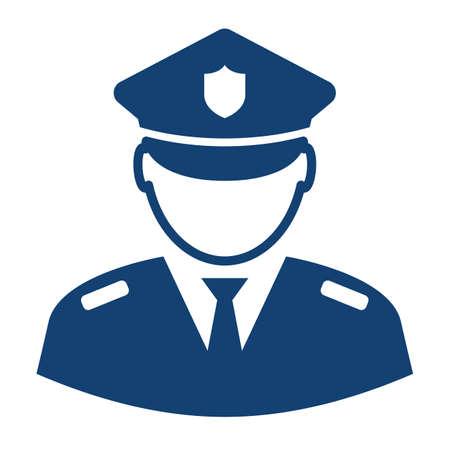 Military serviceman vector icon