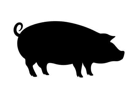 Hog vector icon