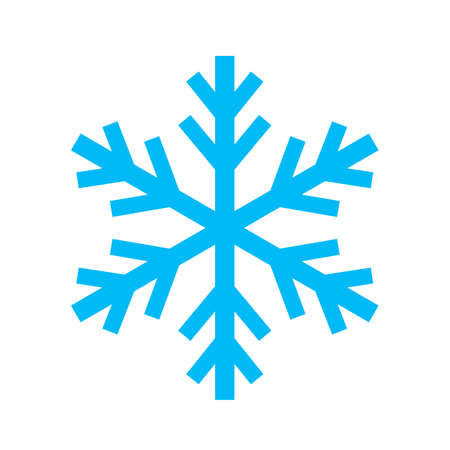 Snowflake simple icon