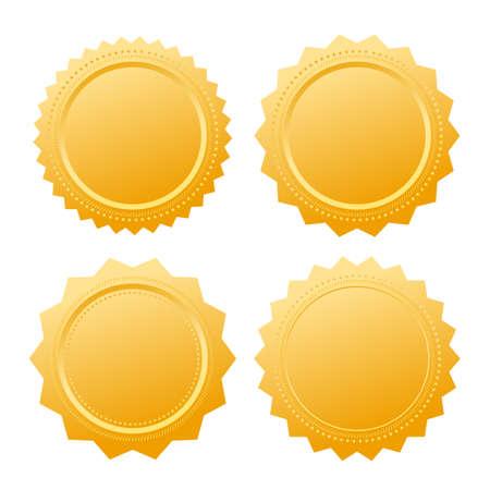 Diploma gold seal certificate