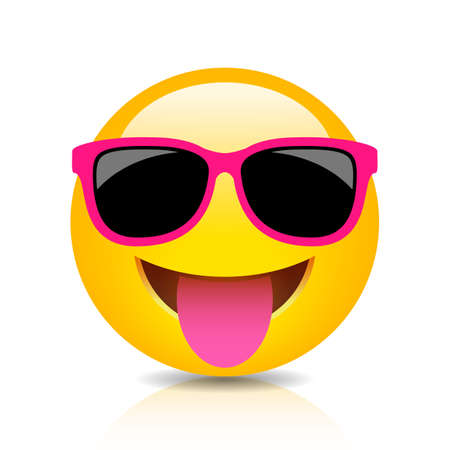 Happy foolish emoji icon