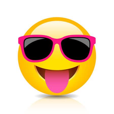 Icône emoji stupide heureux