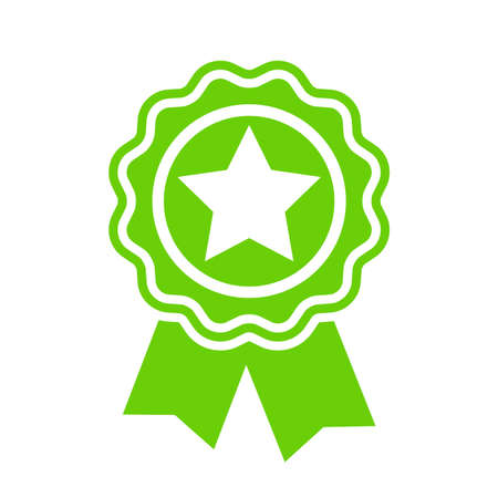 Green badge icon