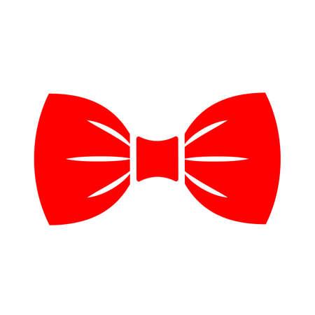 Icono de vector de pajarita