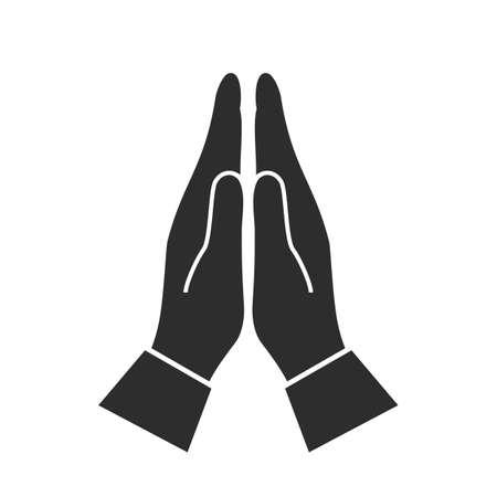 Hands namaste sign