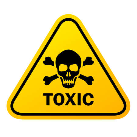 Toxic vector sign