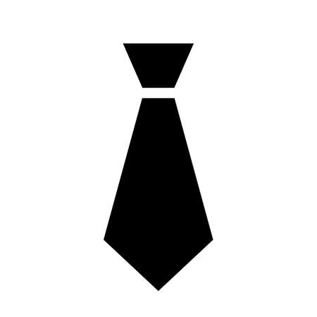 Black tie icon Illustration