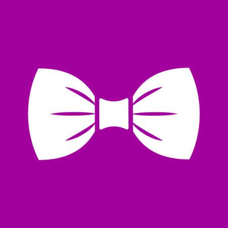 Icono de pajarita elegante