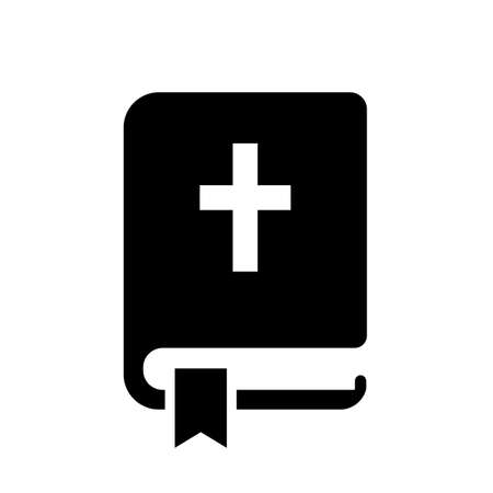 Holy Bible vector icon