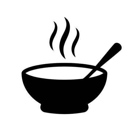 Soup vector icon