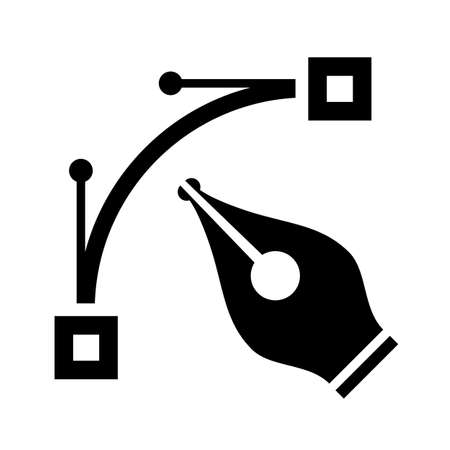 Vector type file icon