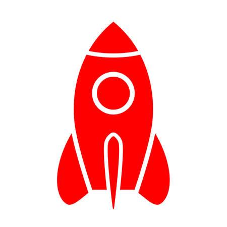 Space ship icon Ilustração