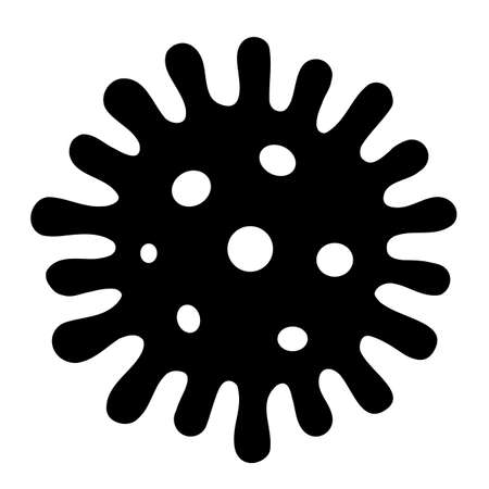 Microbe vector icon Çizim