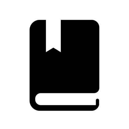 Guide book vector icon  イラスト・ベクター素材