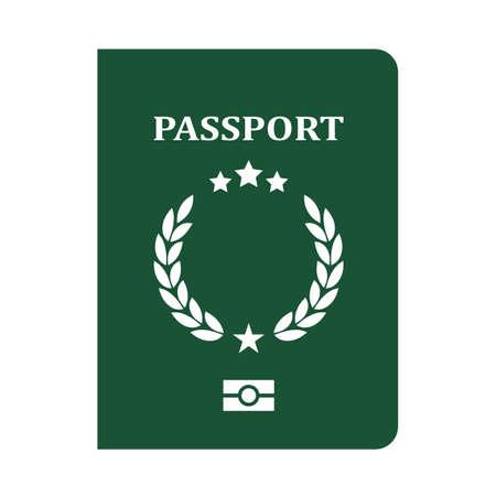 Passport vector icon 向量圖像