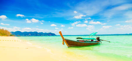 Wild beach on Phi Phi Island, Thailand