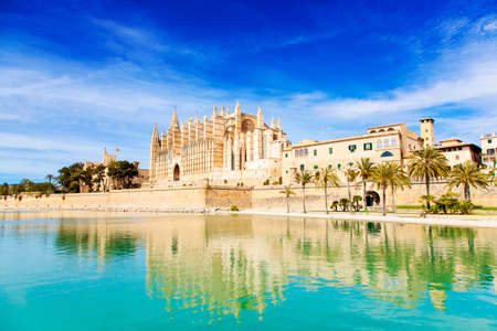 Majestic Palma de Mallorca Cathedral, Spain