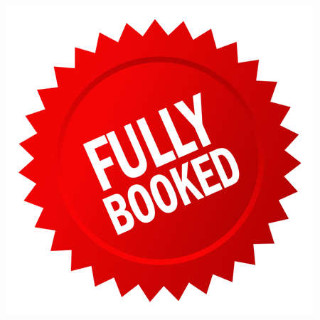 Fully booked star icon isolated on white background