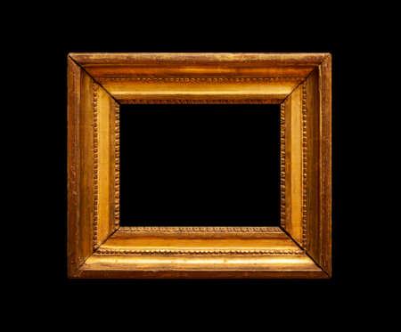 Ancient gold frame Zdjęcie Seryjne - 134169900