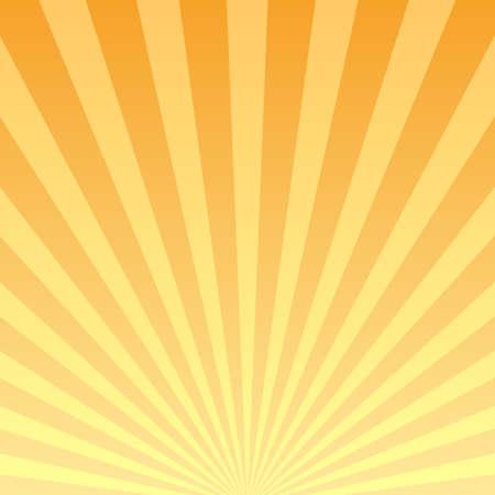 Retro striped background, bursting rays design